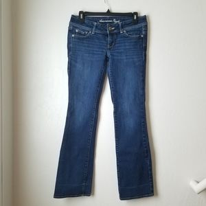 American Eagle Slim Bootcut Dark blue jeans